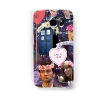 Sassy Tenth Doctor and Companions Samsung Galaxy Case/Skin