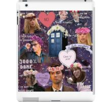 Sassy Tenth Doctor and Companions iPad Case/Skin