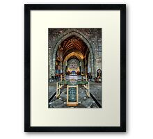 Table Reflections Framed Print