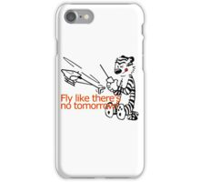 RC Helicopter Hobbes Design iPhone Case/Skin