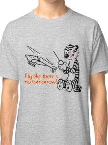 RC Helicopter Hobbes Design Classic T-Shirt