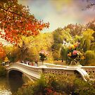 Bow Bridge Autumn by Jessica Jenney