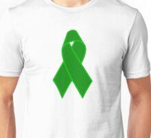 Green Support Ribbon Unisex T-Shirt