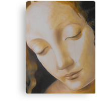 Study #1 - from Madonna on the rocks Canvas Print
