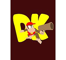 Super Smash Bros Diddy Kong Photographic Print