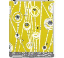 Mid Century Meadow (Mustard) iPad Case/Skin