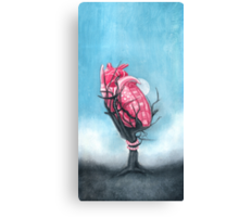Heart's Apart Canvas Print