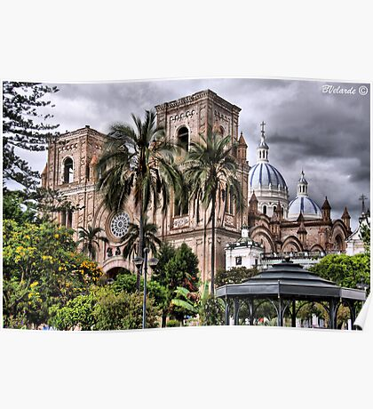 The Cathedral of Cuenca Poster