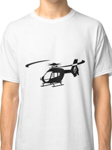 EC-135 Helicopter Design Classic T-Shirt