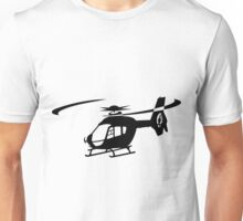 EC-135 Helicopter Design Unisex T-Shirt