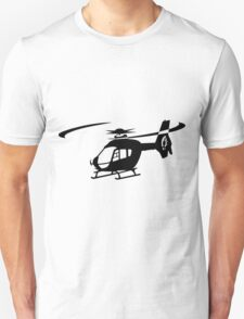 EC-135 Helicopter Design T-Shirt
