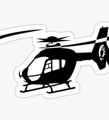EC-135 Helicopter Design Sticker