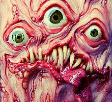 green eye triclops by dogzillalives