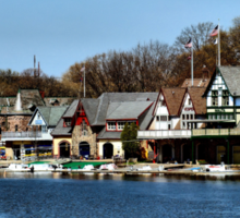 Boathouse Row Sticker