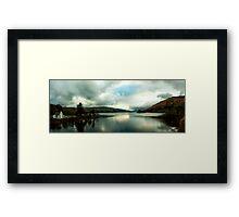Loch Tay Panorama from Kenmore Bridge Framed Print