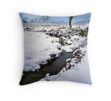 'Rannoch Moor' Throw Pillow