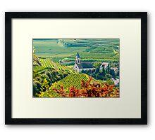 Kaiserstuhl, South-West Germany Framed Print