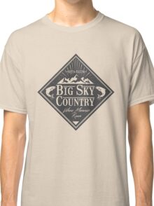 Big Sky Country - Dark print Classic T-Shirt