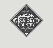 Big Sky Country - Dark print Unisex T-Shirt