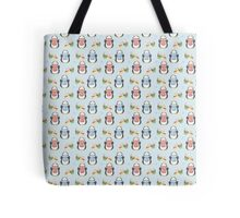 December Penguin Tote Bag