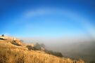 The Fog Bow by LeeoPhotography