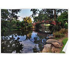 Kawasaki Bridge Reflection Poster