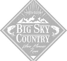 Big Sky Country - Light print by sofiatalvik
