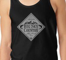 Big Sky Country - Light print Tank Top