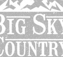 Big Sky Country - Light print Sticker