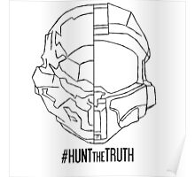 HuntTheTruth - Locke/Master Chief Poster