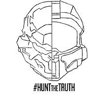HuntTheTruth - Locke/Master Chief Photographic Print