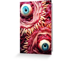 tooth beast Greeting Card