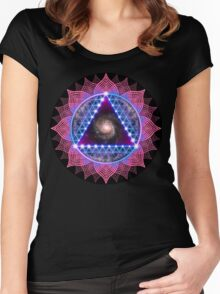 The Stargazer Women's Fitted Scoop T-Shirt