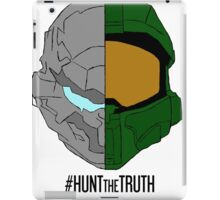 #HuntTheTruth - Locke/Master Chief Colour iPad Case/Skin