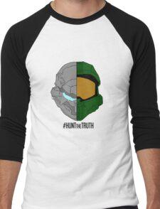 #HuntTheTruth - Locke/Master Chief Colour Men's Baseball ¾ T-Shirt