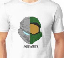 #HuntTheTruth - Locke/Master Chief Colour Unisex T-Shirt