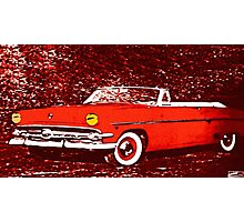 american car Photographic Print