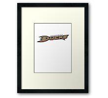 Anaheim Ducks Framed Print