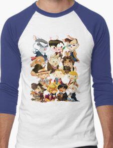 The Velveteen Doctors Men's Baseball ¾ T-Shirt