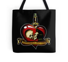 Necromance Isn't Dead Tattoo Tote Bag