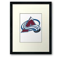 Colorado Avalanche Framed Print