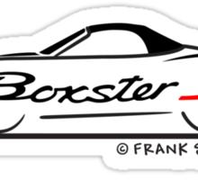 Porsche Boxster S 986 With Script Sticker