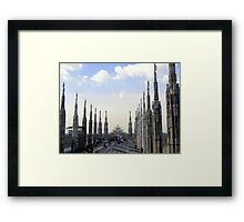The Roof of the Duomo of Milano Framed Print