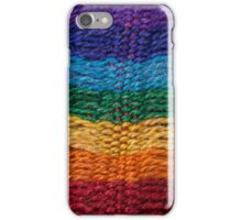 spectrum knit one iPhone Case/Skin