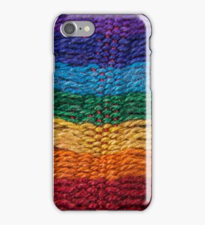 spectrum knit one iPhone Case/Skin