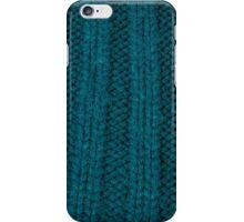 cyan rib iPhone Case/Skin