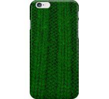 green rib iPhone Case/Skin