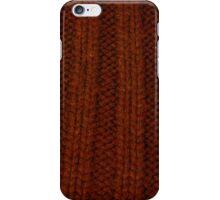 orange rib iPhone Case/Skin