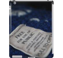 Soft Tardis iPad Case/Skin