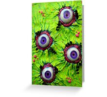 Lisa Frank nightmare Greeting Card